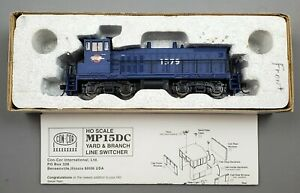 """Con-Cor HO MP15DC Yard Switcher MO PAC Blue Cab #1379 """"As Is"""""""