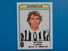 Figurine Calciatori Panini 1980-81 1981 N.197 Antonio Cabrini Juventus