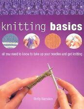 Knitting Basics by Betty Barnden  #17809