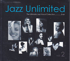 """""""Jazz Unlimited Vol.2"""" Jazz Vocal Collection DW Mastering Audiophile 2-CD New"""