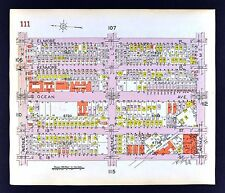 1929 Brooklyn Map Midwood Ocean Avenue I to M - 17th to Elmore St. New York City