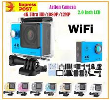 4K Ultra HD H9+ Action Camera 30m Waterproof WIFI, ,GoPro/SJ9000 Acs-BLACK -SALE