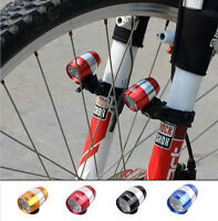 New Cycling Bicycle Bike Front Fork 6 LED Light Safety Warning Lamp 2 Modes