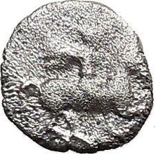 LARISSA Thessaly 479BC Obol Ancient Silver Greek Coin Horseman Athena i36789