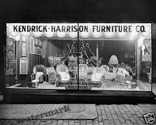 Photograph Vintage Store Kendrick Harrison Furniture Company 1921c  8x10
