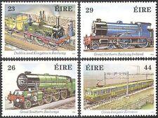 Ireland 1984 Trains/Steam Engines/Locomotives/Rail/Railway/Transport 4v (n29002)