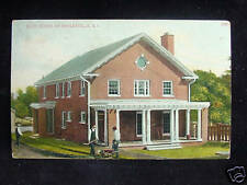 1912 Club House Saylesville RI post card