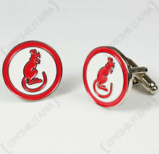 WW2 Style British Army DESERT RATS CUFFLINKS and Gift Box 7th Armoured Division