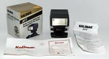 Kalimar AFF Auto Focus Infra-Red Dedicated TTL Flash. Dedicated to Nikon AF NEW