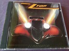 ZZ Top Eliminator Target CD Made in Japan Smooth Case