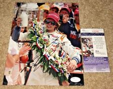 DAN WHELDON SIGNED 2011 INDY 500 8X10 PHOTO INDIANAPOLIS WINNER *RARE* JSA