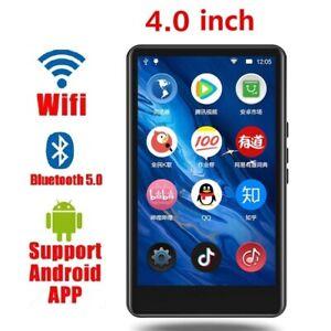 MP3 Player Zinc Alloy Voice Recorder FM Radio E Book Wifi Bluetooth 5.0 Speaker