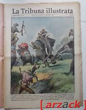 LA TRIBUNA ILLUSTRATA 49 Indocina guerra con elefanti 26/11/1950