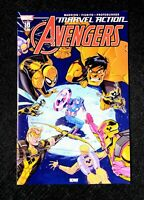 Marvel Action AVENGERS #10 1st Appearance YELLOW HULK - Low Print Run *NM* HOT!