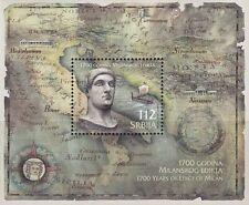 2013 1700° anniversario dell'editto di Milano - Serbia - foglietto