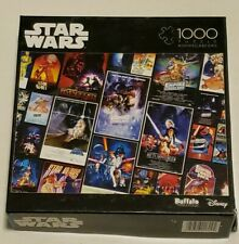 Star Wars 'Original Trilogy' Posters 1000-Piece Puzzle, 100% COMPLETE