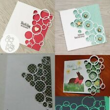 New Bubble frame Metal Cutting Dies Stencil Scrapbooking Embossing Craft DIY