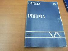 LANCIA PRISMA MANUALE ASSISTENZA TECNICA / CATALOGO RIPARAZIONI