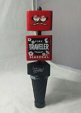 Curious Traveler Time Traveler Shandy Beer Tap Handle Moving Blocks Seasonal