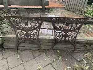 Vintage Cast Iron Table Legs