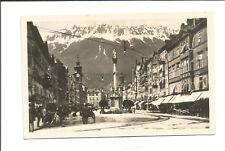 TIROL Ak aus INNSBRUCK  - Maria Theresienstrasse, vor 1938