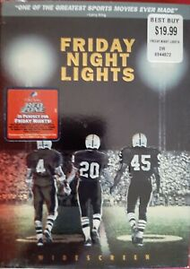 Friday Night Lights Widescreen New Sealed DVD, with Slipcover, Free S&H.