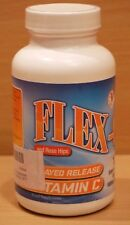 Flex-C Timed Release Vitamin C Supplement and Rose Hips 1000mg 120 Tablets