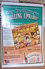 "Ray Bradbury ORIGINAL THEATER POSTER ""Falling Upward"" Comedic Irish Fable Unused"