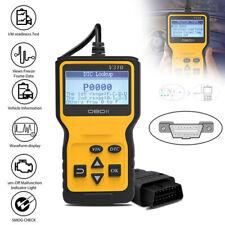 Car OBD2 Scanner Diagnostic Engine Fault Code Reader Tool LCD Display OBDII Scan