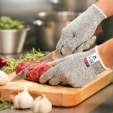 Cut Resistant Gloves Level 5 High Performance Protection Safety BBQ Gloves M