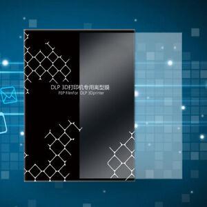 5 X Plastik Fep Film für Anycubic SLA / DLP Photon Drucker Folie 200x140mm #