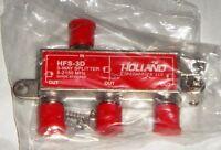 Holland HFS-3D 3-Way Coax Splitter Dish Network Approved Hopper & Joey - NEW