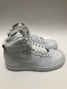 Nike Air Force 1 High '07 Women's 6 Triple White Shoes 334031-105 WMNS Size 7.5