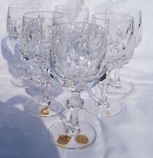 Nachtmann Alexandra 6 Weingläser aus Kristall