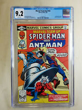 Marvel Team-Up #103 (1981) CGC 9.2 White Pages Spider-Man Ant Man