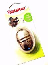 Colino per tè NUOVO a sfera Infusore in Metallo Argento Sacchetto Filtro Setaccio, a base di erbe spezie