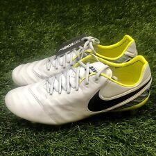 75416c63f704 Nike Women's Tiempo Legend VI FG Size 11.5 Soccer Cleat Platinum 819256-054