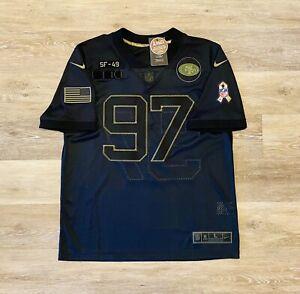 Nike San Francisco 49ers Nick Bosa 2020 Salute To Service Jersey Men's Large