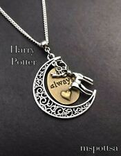 Always and Forever Harry Potter Necklace Deathly Hallows Mom Lily Snape Love