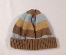 boy Gymboree BEST IN SHOW dog blue brown striped knit sweater beanie hat 12- 18