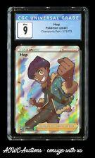 Pokemon (2020) - Champion's Path - Hop 073/073 (Ultra Rare) - CGC Mint 9.0