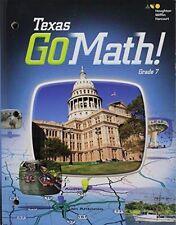 Go Math Texas Grade 7 Teacher Edition 7th