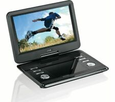 "11.6"" Portable DVD Player Rechargeable USB SD ports AV in out 11.6 inch Monitor"