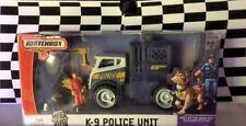 Matchbox 2007 MBX Metal Mega Rig Building System K-9 Police Unit Playset