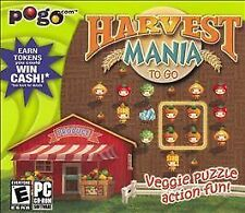 Harvest Mania To Go (PC, 2005) New in Jewel Case