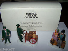 Heritage Village Collection - Holiday Travelers -Dept. 56 - No. 5571-9 - Mib