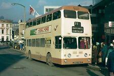 957 957 FWJ SYPTE ex Sheffield Transport 6x4 Quality Bus Photo