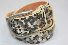 Markenlose Modeschmuck-Armbänder aus Leder mit Strass