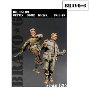 Bravo 6 Gettin Some Kicks.1943-45 1/35 scale resin figures B6-35103