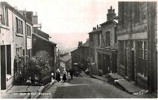 RPPC,Haworth,U.K.Main Street,West Yorkshire,c.1909